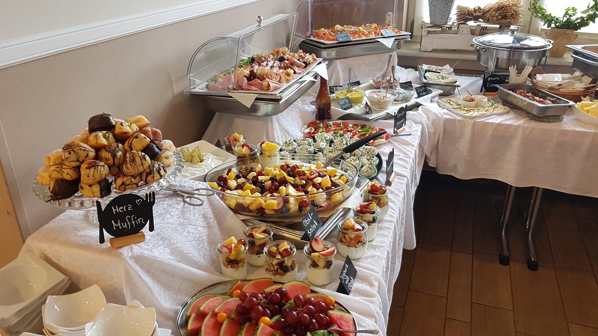 Ebsen's Kaffehaus Frühstücksbuffet